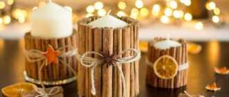 Новогодние свечи: 67 новых идей декора для разных стилей праздника