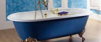 Популярные виды ванн