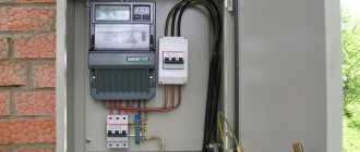 Подключение электрощитка в гараже своими руками
