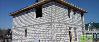 Облицовка дома из газобетона клинкерной плиткой
