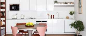 Обеденный стол для маленькой кухни – идеи и фото