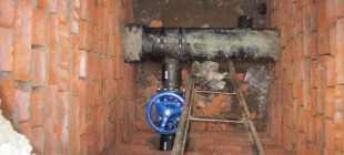 Распределительный колодец водоснабжения