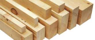 Разновидности бруса для строительства загородного дома